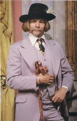One of the creepiest characters in TV history, Billy Clyde Tuggle, assayed brilliantly by Matthew Cowles.