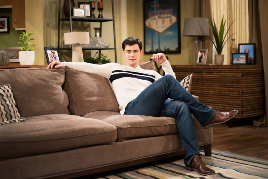 Christopher Sean as Paul Norita on Days of our Lives. Sean plays a former professional baseball player who is wreaking good-looking havoc in the relationship of iconic couple Will and Sonny. |Image: Macey J. Foronda/BuzzFeed